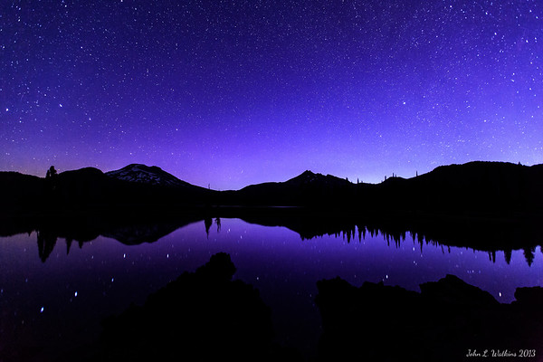 Big Dipper Over Sparks Lake No. 2