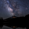 Milky Way Over Mt. Bachelor at Todd Lake No. 4