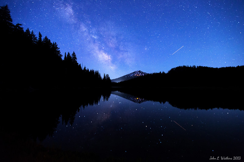 Milky Way Rising Over Todd Lake No. 2