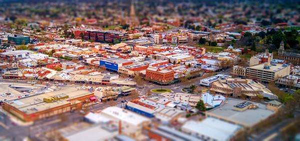Bendigo Central Business District
