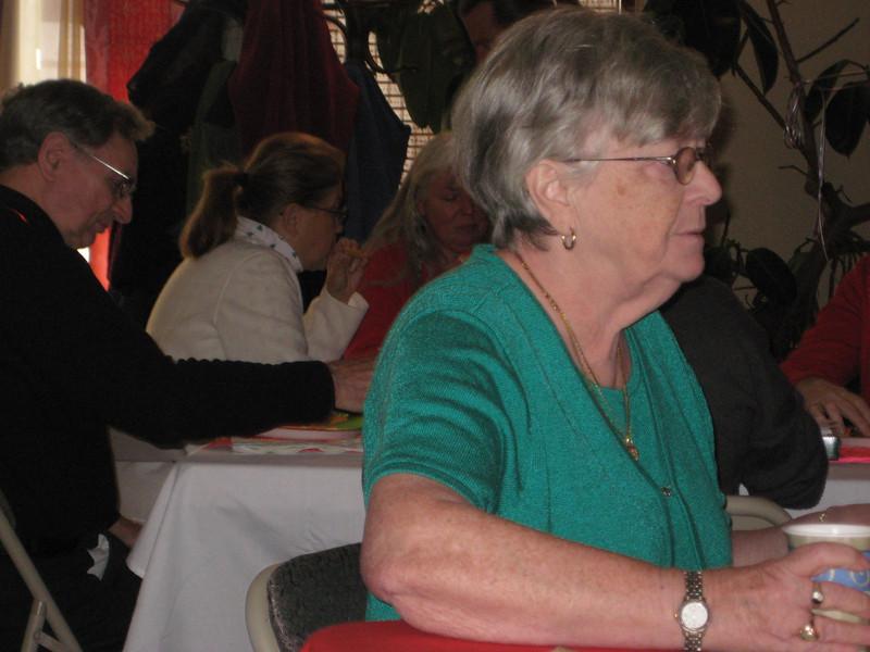Jan Watson, Phillip Szpiech, Barb Francisco - BT Christmas Social December 5, 2010