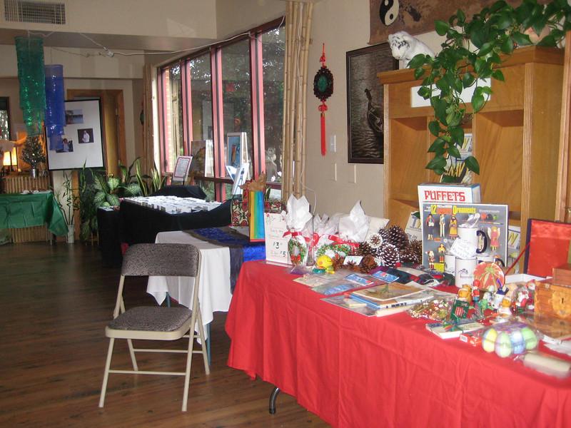 Bazaar Material for sale at BT's first Bazaar December 4, 2010