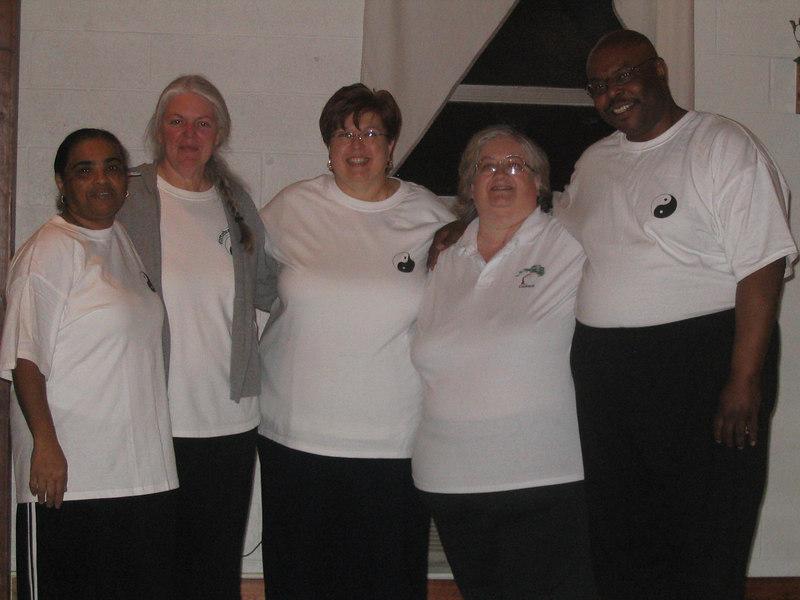 Left to Right: Norma Kahn, Elise Wolf - CC, Bernardine Drews, Debbie Calvert - Instructor, Wil Spriggs March 5, 2007