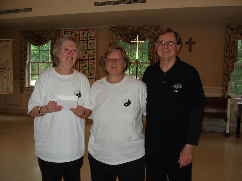 Tai Chi for Diabetes May 2007: Ruth Snider, Deborah Tillet, Phillip Szpiech.