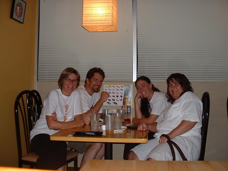 Fellowship of the Inner Light August 2007 Left to Right: Jane Copeland - Class Coordinator, Mark Miltz, Marlowe D'Oriano - Instructor, Equilla Walker.