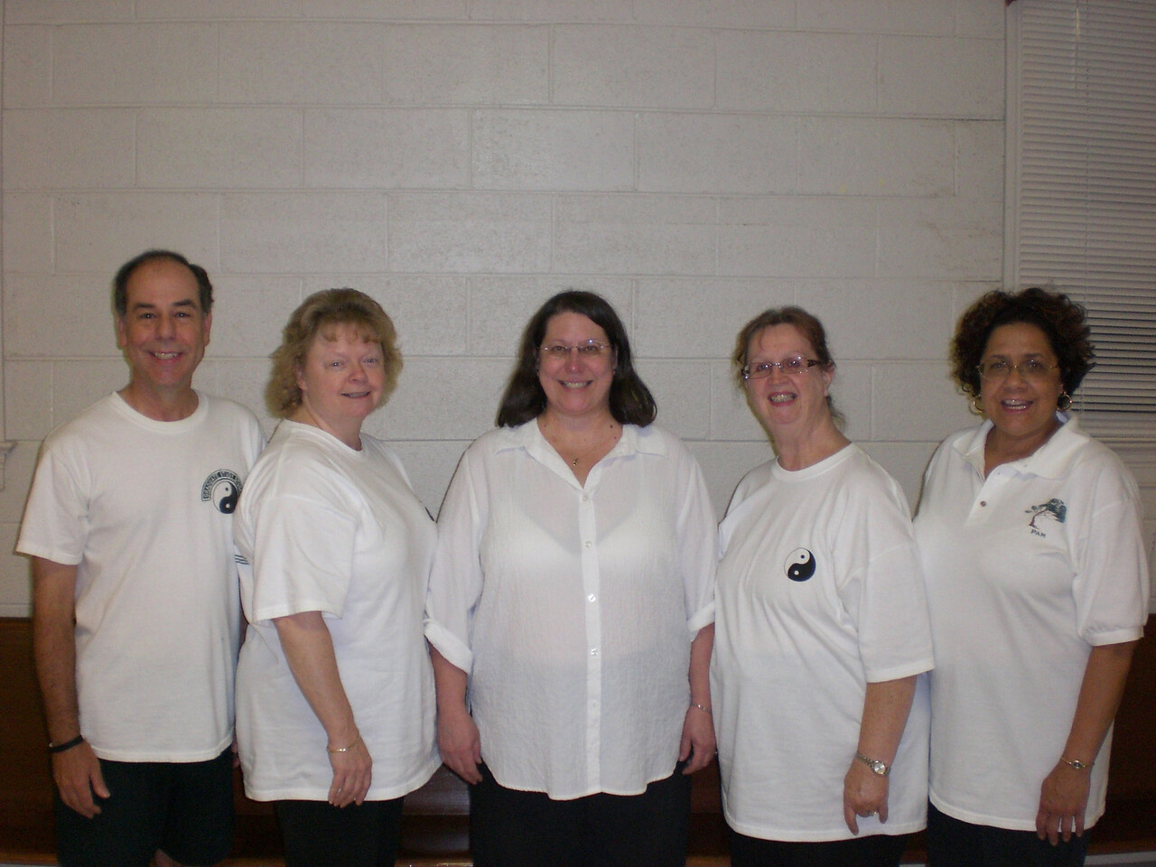 Tuesday July 2007 Hampton Class: Dave Watts - Class Coordinator, Barbara Fagley, Ann Higgenbothem, Pat Walls, Pam Paster - Instructor.