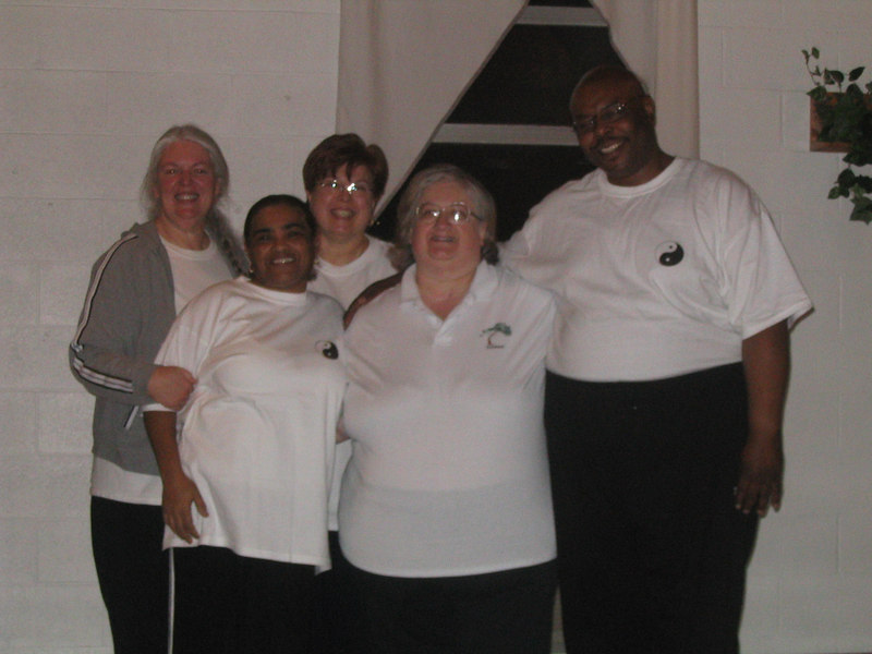 Left to Right: Elise Wolf CC, Norma Khan, Bernardine Drews, Debbie Calvert - Instructor, Wil Spriggs March 5, 2007