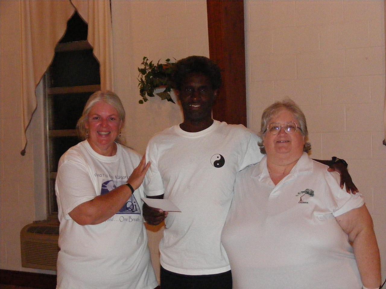 Elise Wolf - Class Coordinator, Daniel Myer - New Graduate and Debbie Calvert - Instructor 10/29/07 IMS Class