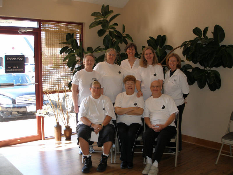 Back Row: Sandra GSS, Lila Henry, Judith Forsyth - Teacher, Mary Mattingly, Julie Cobb CC     Front Row: Teri Saunders, Marie Hanner, Robert Moore February 27, 2007