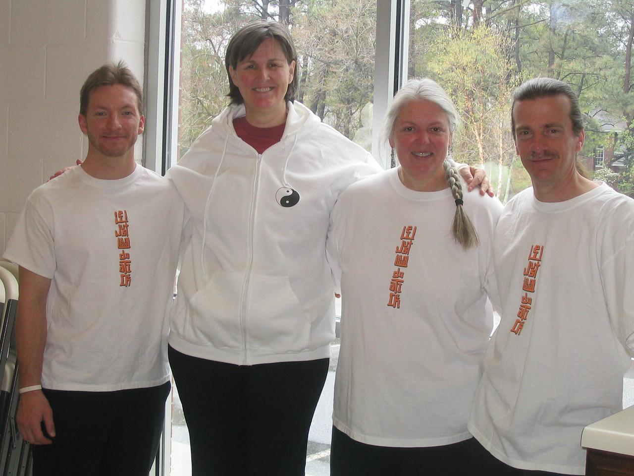 New Dragon Graduates<br /> Lt - Rt = Nik Levinsky, Judith Forsyth - Teacher, Elise Wolf and Tom Wolf<br /> Graduated 11-01-06