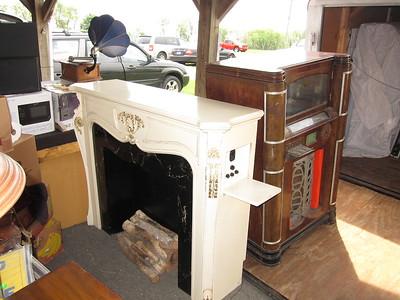 Philco fireplace radio