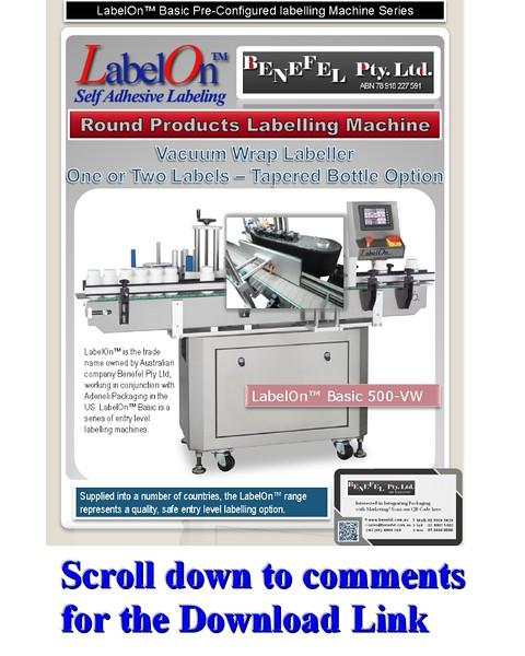 LabelOn™ Basic 500 – Vacuum Wrap Labeller