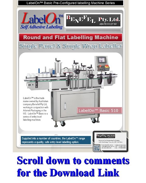 LabelOn™ Basic 510 – Single Panel & Wrap Labeller