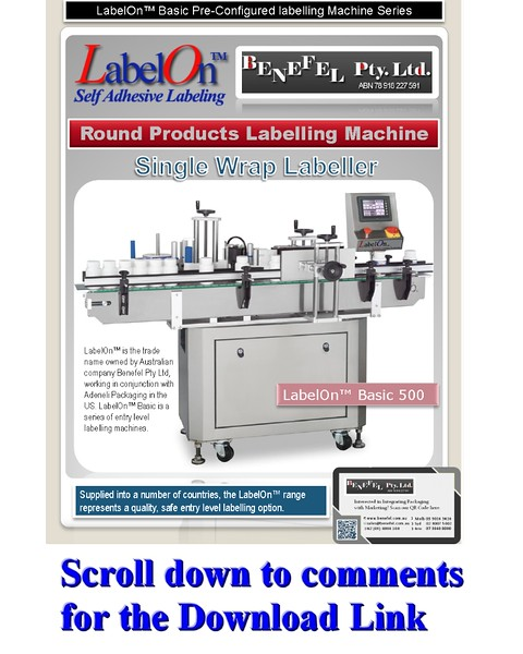 LabelOn™ Basic 500 – Wrap Labeller
