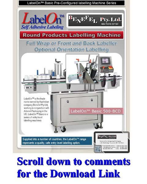LabelOn™ Basic 500 – BCD Full Wrap, One or Two Labels.