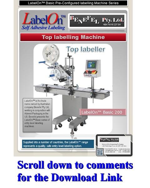 LabelOn™ Basic 200 – Top Labeller