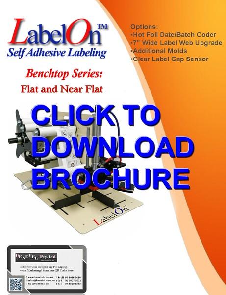 LabelOn™ Benchtop – Flat and Near Flat Labeller