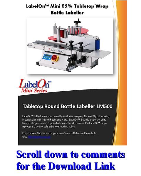 LabelOn™ Mini -Round Labeler