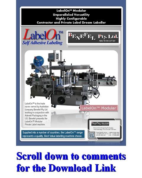 LabelOn Modular Brochure - Benefel