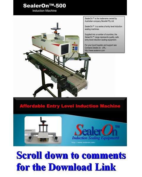 SealerOn™ 500 Brochure