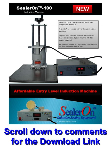 SealerOn™ 100 Brochure - Standard Induction Sealing System