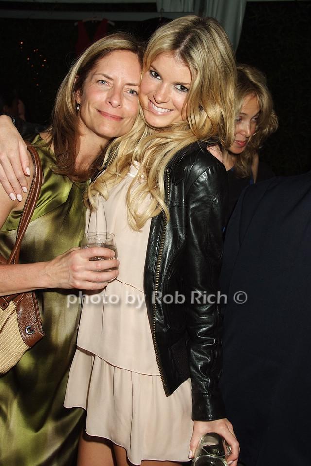 Ann O'Malley, Marisa Miller photo by Rob Rich © 2008 robwayne1@aol.com 516-676-3939