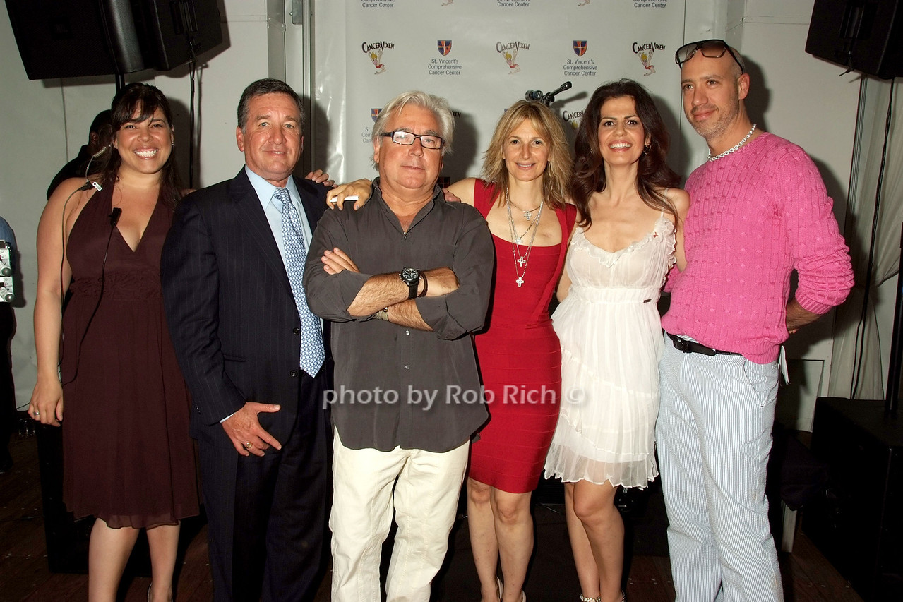 Michelle Diaz, Al Smith, DaSilvano Marchetto, Marisa Acocella Marchetto ,  Grace dos Santos, Robert Verdi