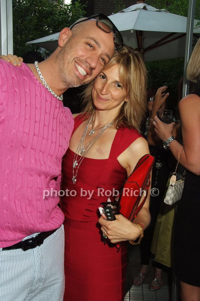 Robert Verdi, Marisa Acocella Marchetto photo by Rob Rich © 2008 robwayne1@aol.com 516-676-3939