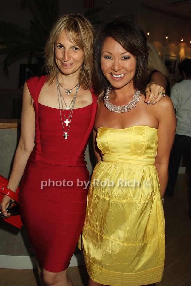 Marisa Acocella Marchetto, Alina Cho photo by Rob Rich © 2008 robwayne1@aol.com 516-676-3939