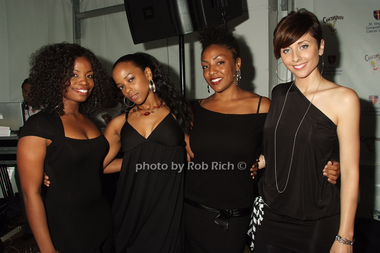 Dee Dickson, Lorraine Dewar, Nishee Scott, Tina Brown