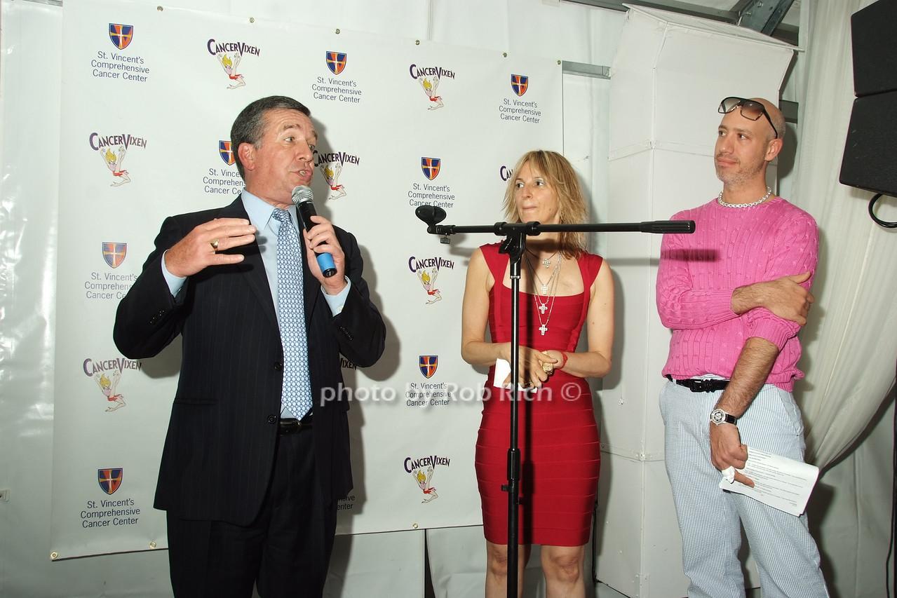 Al Smith,  Marisa Acocella Marchetto, Robert Verdi photo by Rob Rich © 2008 robwayne1@aol.com 516-676-3939