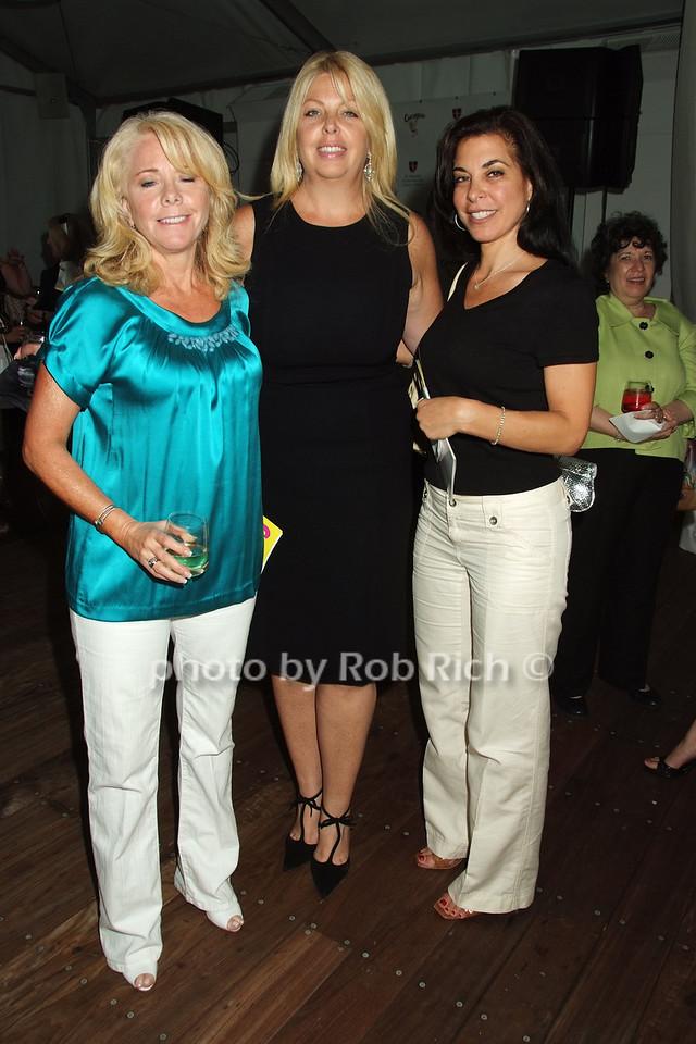 Cynthia Petruzella, Maryellen Burke,  Adrienn Saitta photo by Rob Rich © 2008 robwayne1@aol.com 516-676-3939