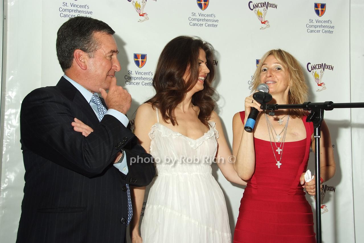 Al Smith, Grace dos Santos, Marisa Acocella Marchetto photo by Rob Rich © 2008 robwayne1@aol.com 516-676-3939