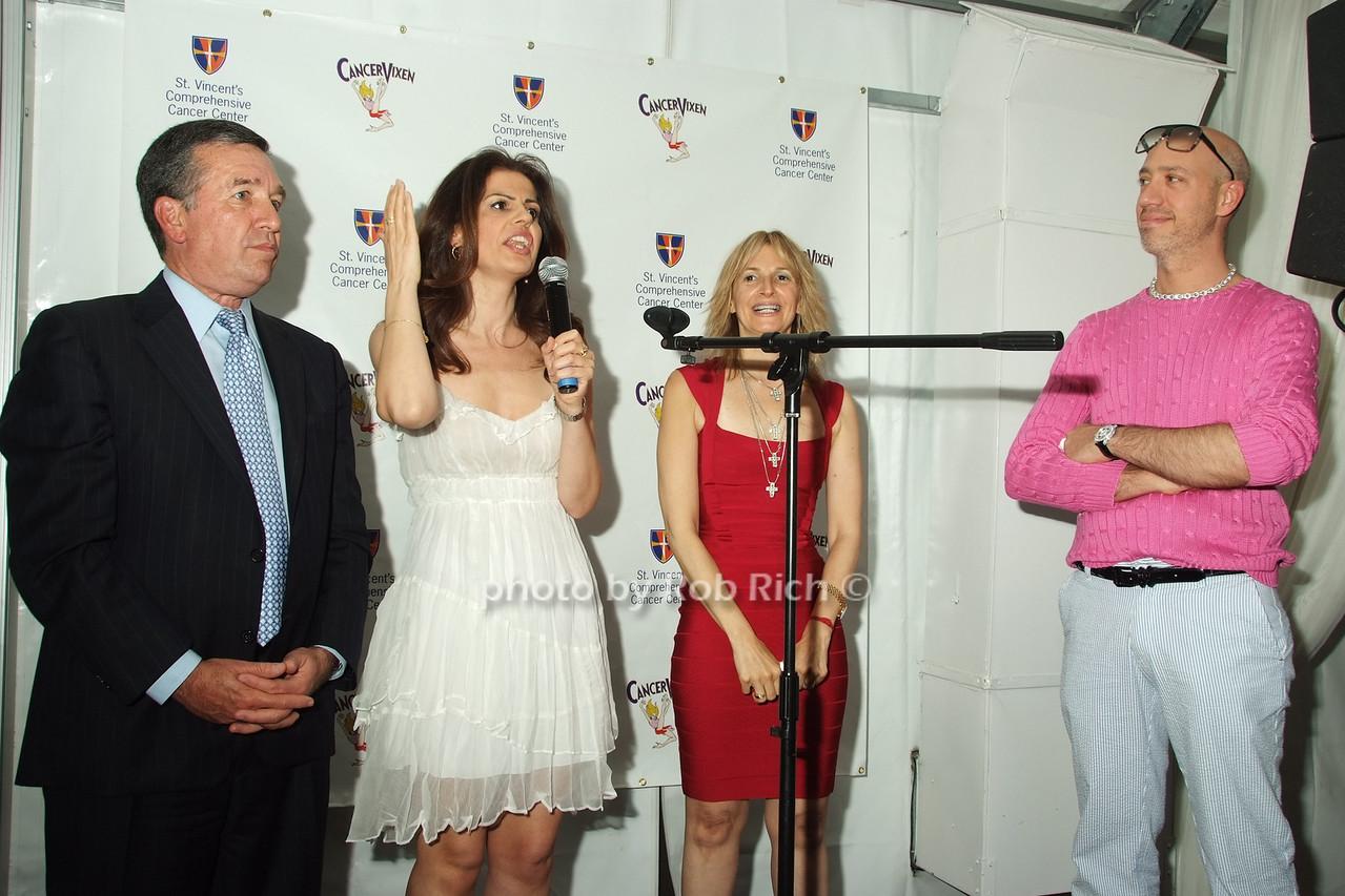 Al Smith, Grace dos Santos, Marisa Acocella Marchetto, Robert Verdi photo by Rob Rich © 2008 robwayne1@aol.com 516-676-3939