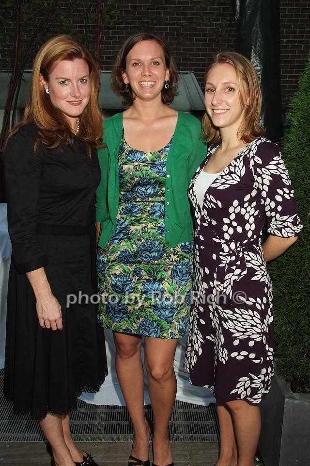 Shelia Lennon, Mary Mooney, Emily Guskin photo by Rob Rich © 2008 robwayne1@aol.com 516-676-3939