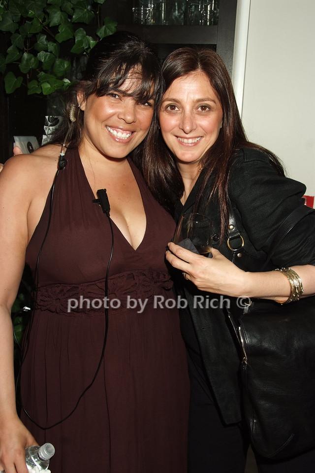 Michelle Diaz, Anna Deluca photo by Rob Rich © 2008 robwayne1@aol.com 516-676-3939