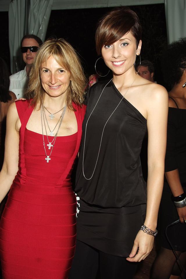 Marisa Acocella Marchetto, Tina Brown photo by Rob Rich © 2008 robwayne1@aol.com 516-676-3939