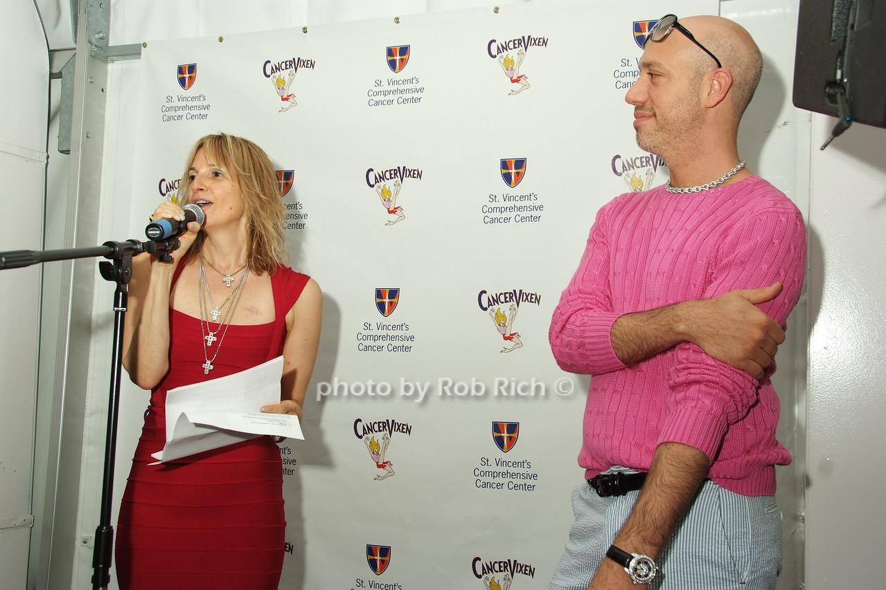 Marisa Acocella Marchetto, Robert Verdi photo by Rob Rich © 2008 robwayne1@aol.com 516-676-3939