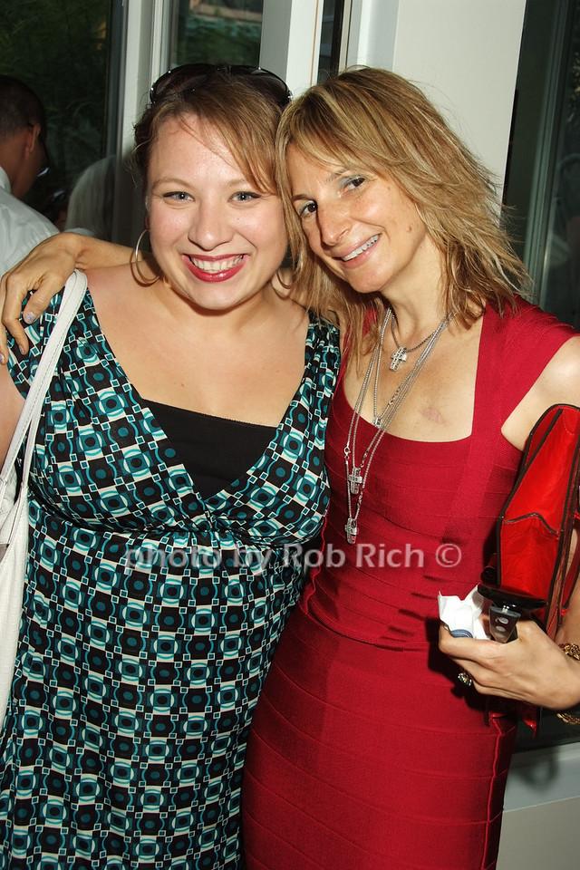 Danielle Castaldi-Micca, Marisa Acocella Marchetto photo by Rob Rich © 2008 robwayne1@aol.com 516-676-3939