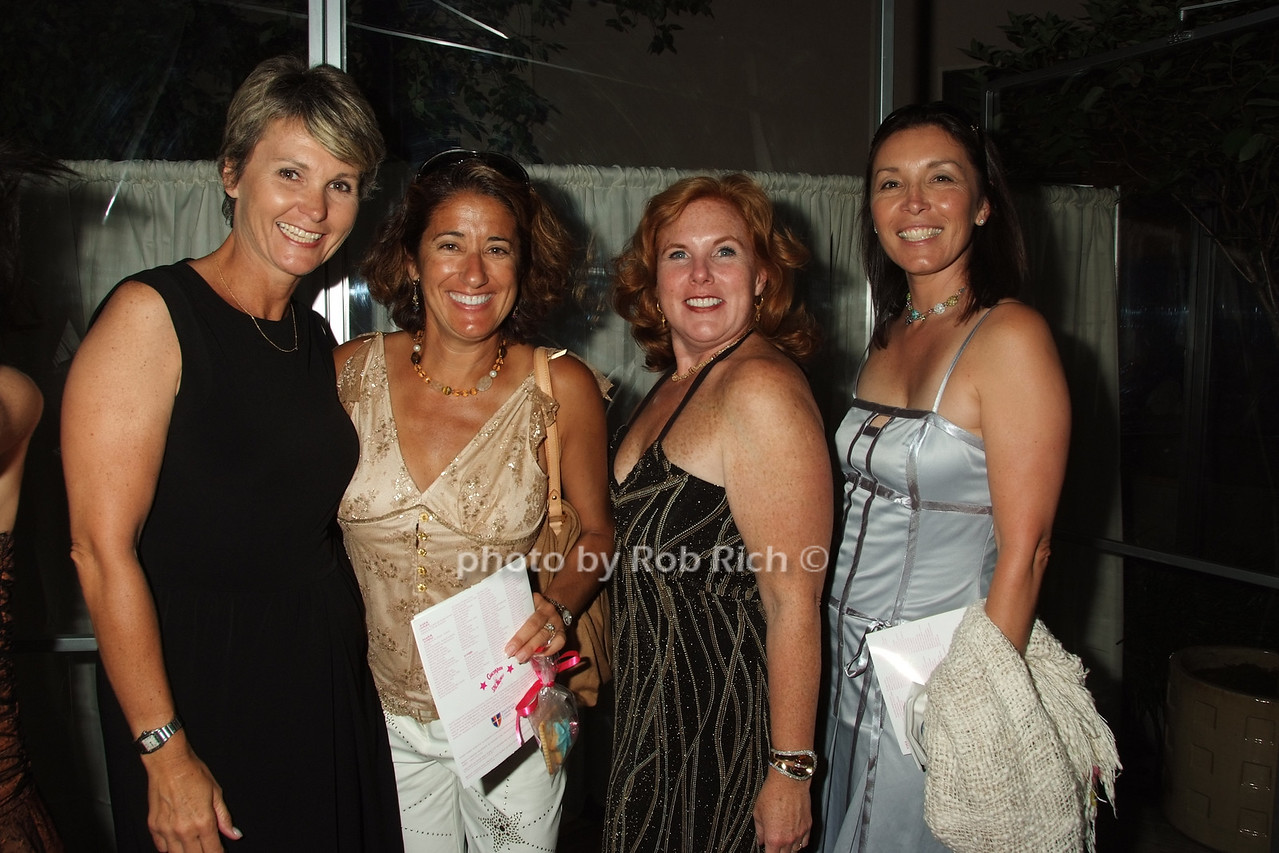 Sara McHugh, Barb Savaitis, Kelly DeMarco, Slim Parnell photo by Rob Rich © 2008 robwayne1@aol.com 516-676-3939