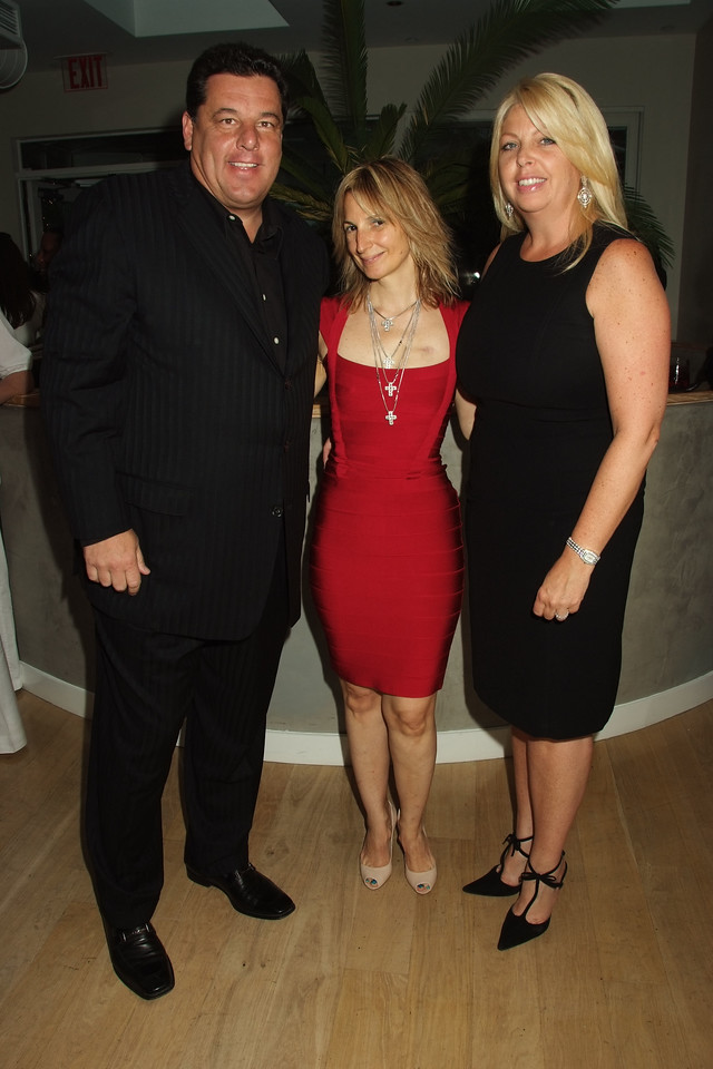 Steve Schirripa, Marisa Acocella Marchetto,Maryellen Burke 