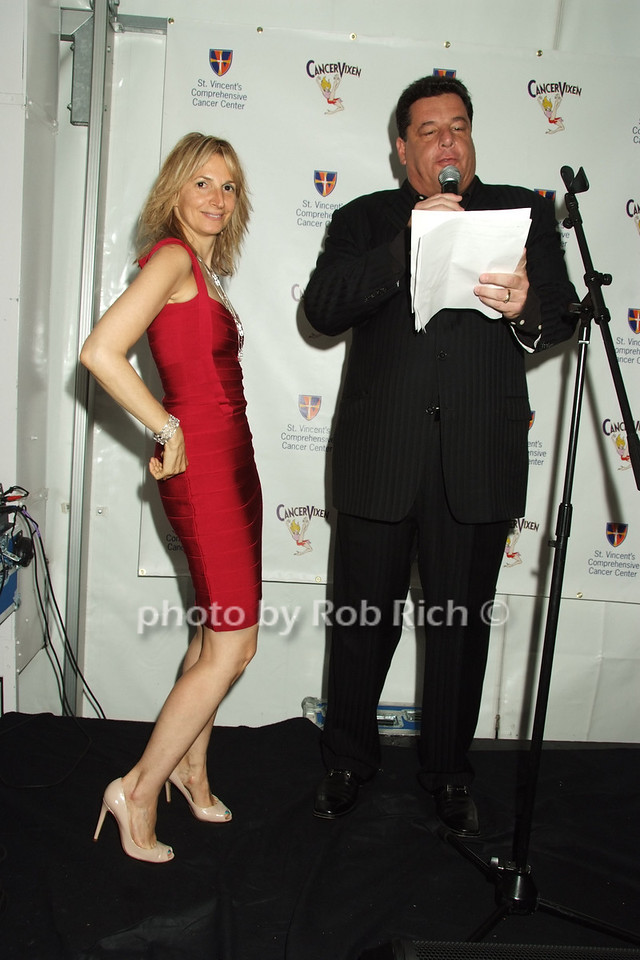 Marisa Acocella Marchetto, Steve Schrippa photo by Rob Rich © 2008 robwayne1@aol.com 516-676-3939