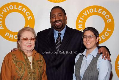 Dr. Mathilde Krim, Clarence Patton, Kim Fountain