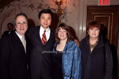 Vic Feldman, David So, Joan So, Anette Feldman photo by Rob Rich © 2008 robwayne1@aol.com 516-676-3939