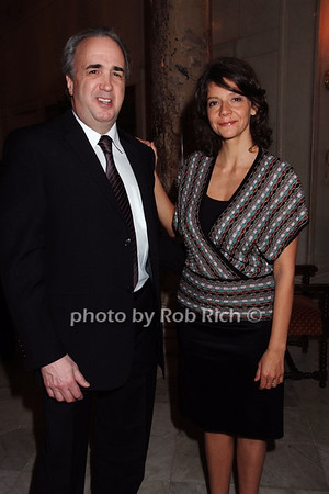 Glenn Eisenstein, Anita Durst photo by Rob Rich © 2008 robwayne1@aol.com 516-676-3939