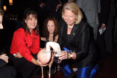 """Pinky""-Flamingo,  Christine Charlick, Susanne Frye, Judith Ayres"