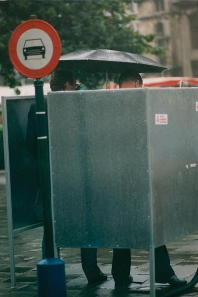 Urinoir, 1990's.