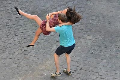 Dansend koppel, 2017.