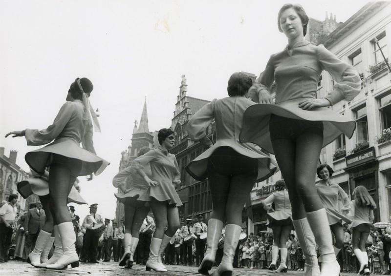 Openingsstoet, 1970's.