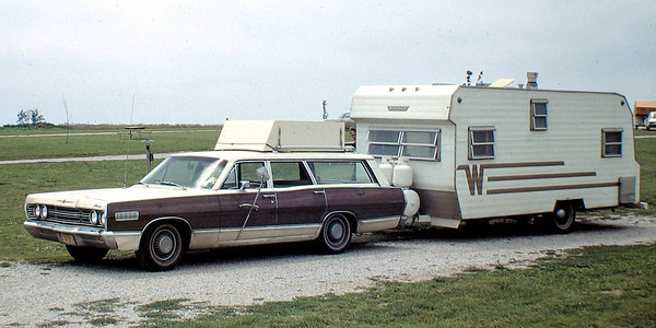 Winnebago trailer